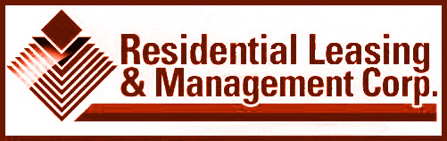 Residential Leasing & Management Corp. Retina Logo